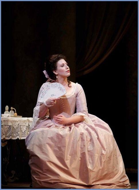 Ellie Dehn (as the Contessa). SF Opera, 2010