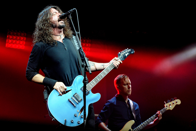 Foo Fighters Break Adele's Glastonbury Swearing Record, As Naked Fan Steals The