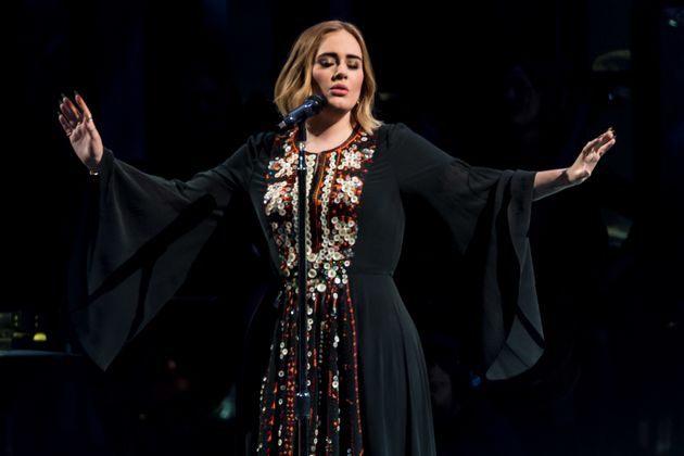 Adele during last year's