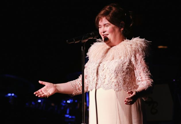 Susan Boyle performing in America in