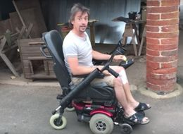 Richard Hammond Shows Off Souped-Up Wheelchair As He Recovers From Accident