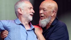 Buoyant Jeremy Corbyn Tells Michael Eavis He'll Be Prime Minister 'In Six