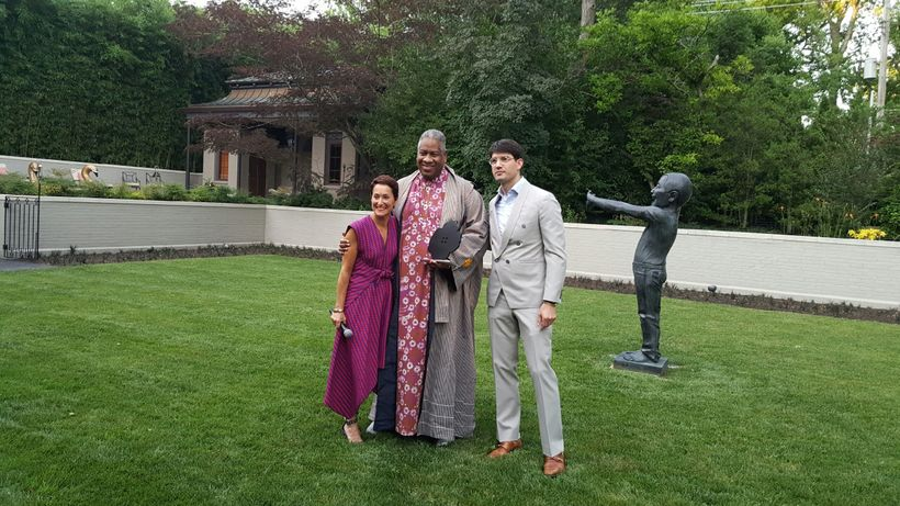Susan Sherman,  André Leon Talley, Eric Johnson