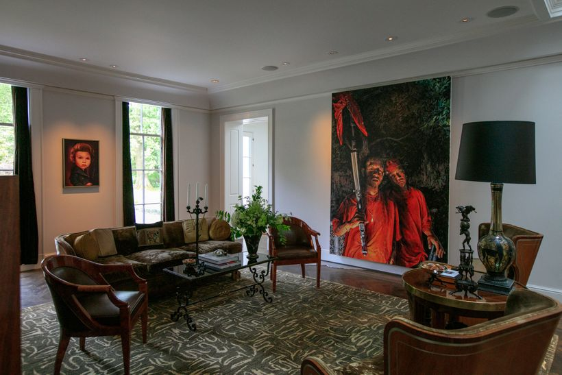 Art collection of Susan and David Sherman