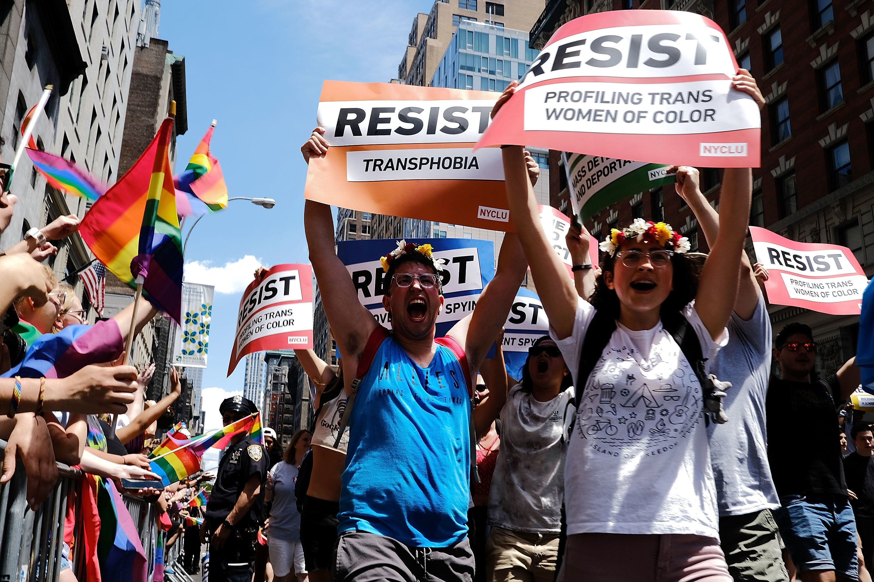 33 Fierce Signs Of Resistance From Pride Marches Across The