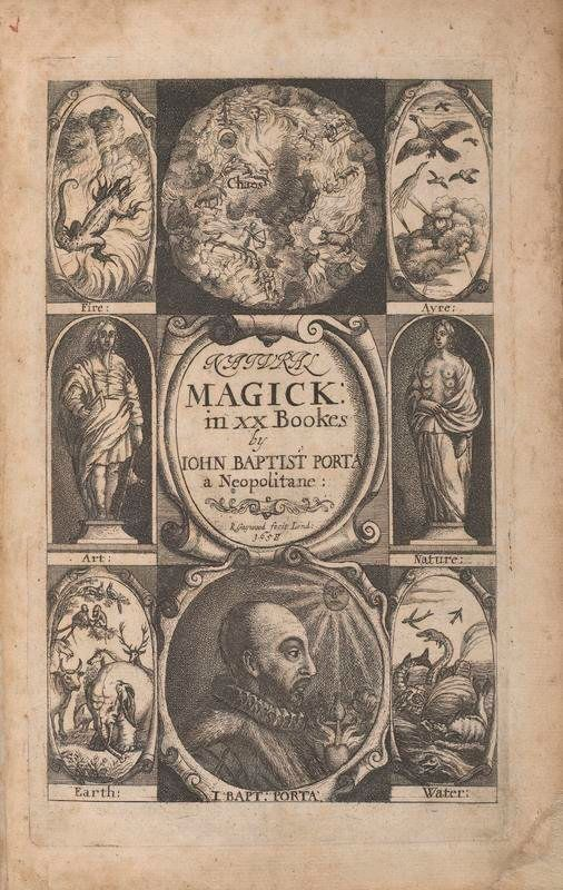 Giambattista della Porta wrote this 1558 book, which attempted to use careful observation and experimentation to underst