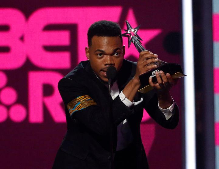 Chance The Rapper won the award for Best New Artist in addition to the Humanitarian Award at the BET Awards.