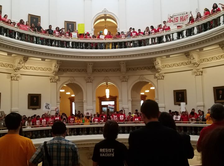 Protest against SB4 at Texas State Capitol, May 29
