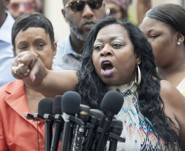 Valerie Castile, Philando Castile' mother, expresses outrage at the acquittal of Jeronimo Yanez, the police officer who kille