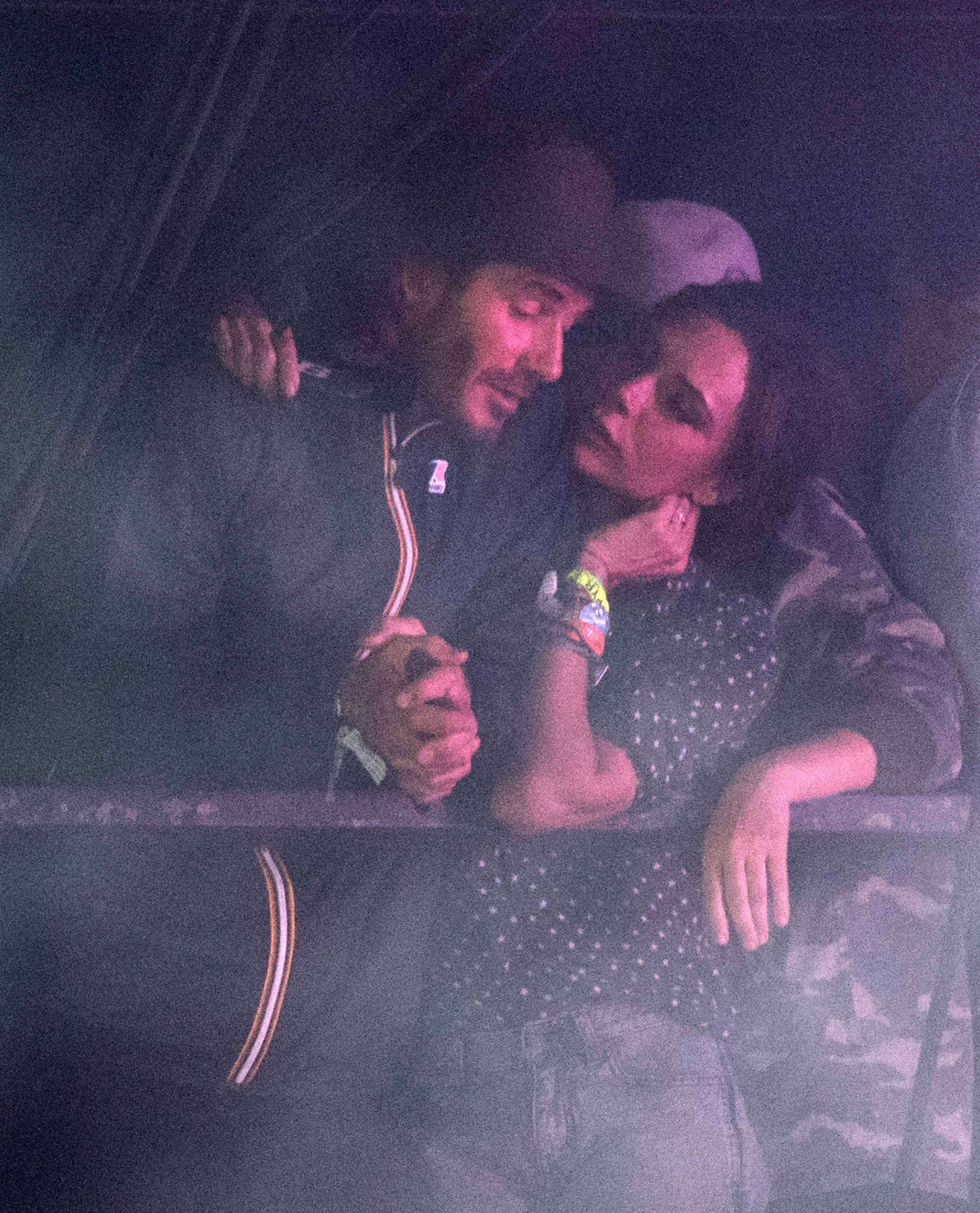 Victoria And David Beckham Looked Loved-Up At Glastonbury As They Watch Ed