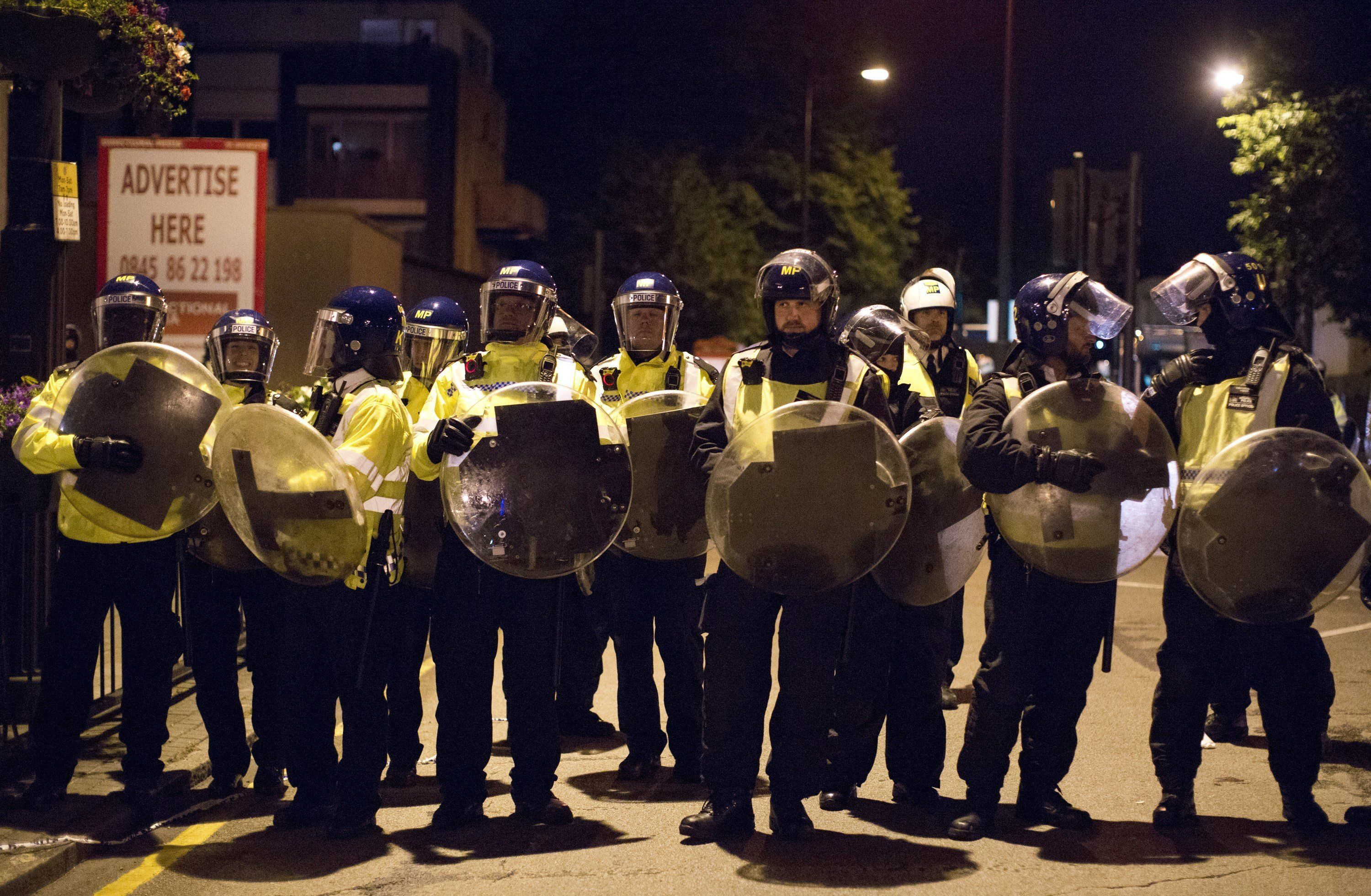 Tensions spiralled on the streets of east London following the death of 25-year-old Edir Frederico Da