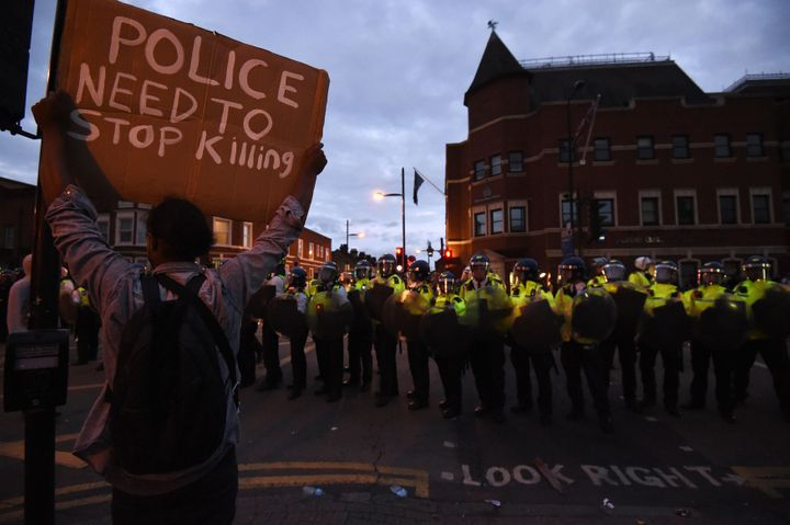 Campaigners insisted the event had been set up as a peaceful march