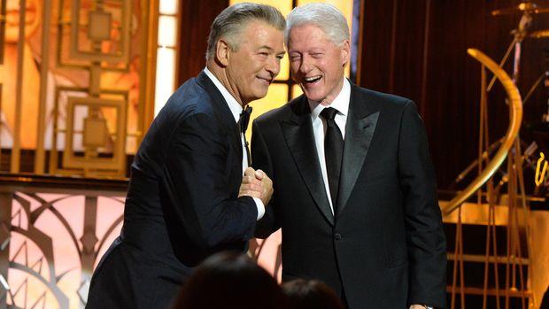 Bill Clinton Zings Trump Administration At Alec Baldwin Roast