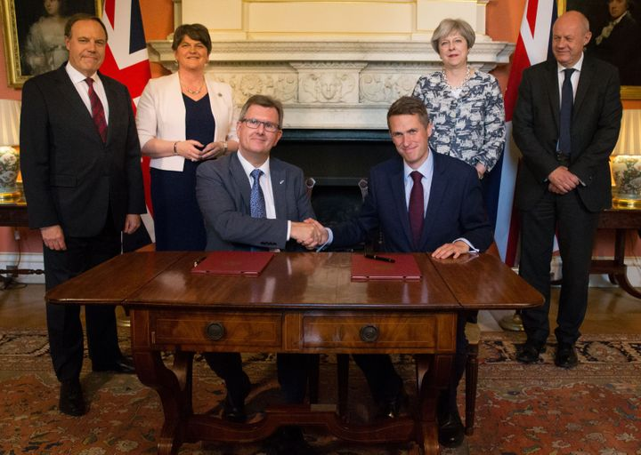 The Tory-DUP deal was struck today