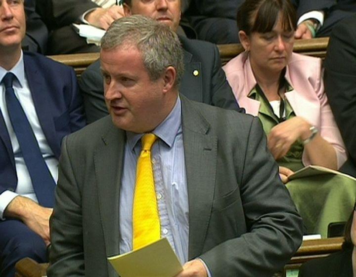 The SNP's Ian Blackford has called the DUP deal