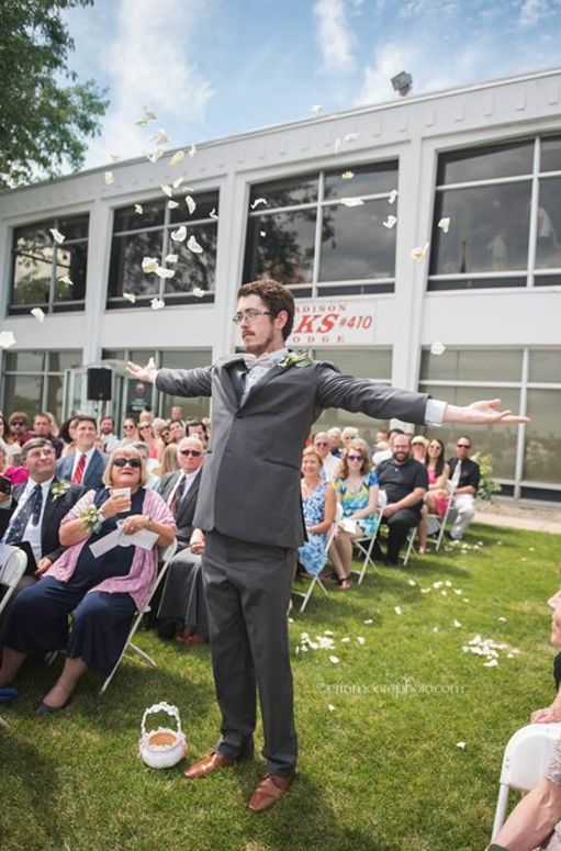 Grown Man Steals The Show As 'Flower Girl' At His Cousin's