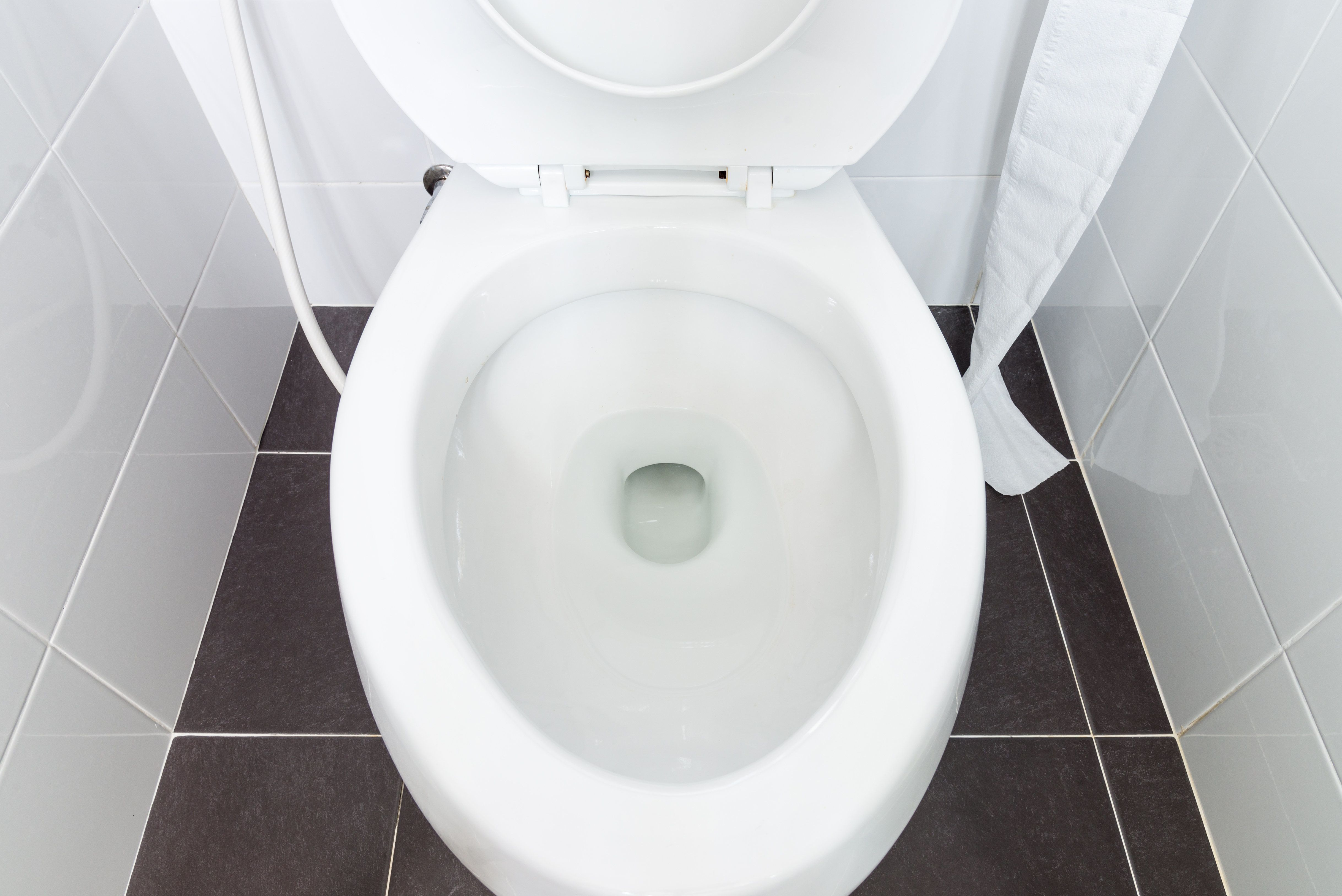People Are Using Toilet Seat Covers To Blot Oily