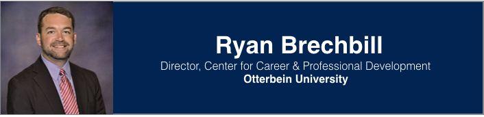 Ryan Brechbill   Director, Center for Career & Professional Development, Otterbein University