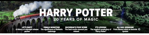 7 Small Ways To Celebrate Harry Potter's 20th