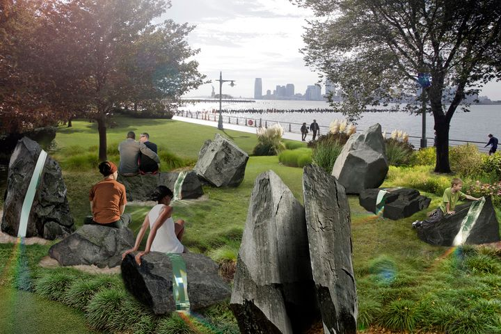 Designed by artist Anthony Goicolea, the new memorial will be situated in New York's Hudson River Park.