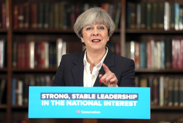 The Conservatives' lead on competence was slashed during Theresa Mays