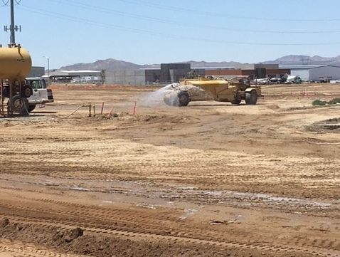 Construction at the Adelanto Detention Facility, June 20, 2017.