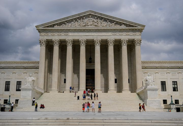 The Supreme Court of the United States building on June 16, 2017 in Washington, DC.