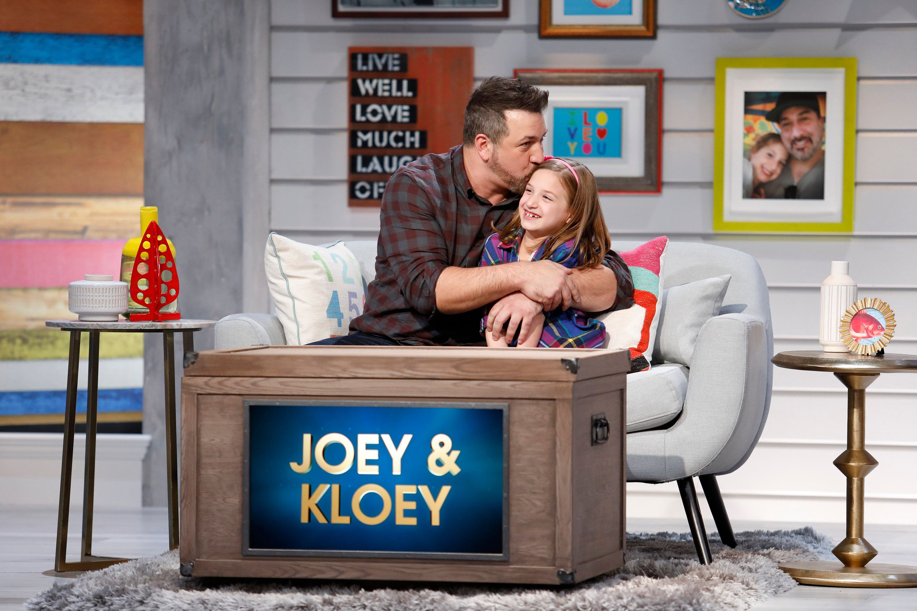 Actor and singer Joey Fatone has opened up about his 7-year-old daughter Kloey, who has autism.