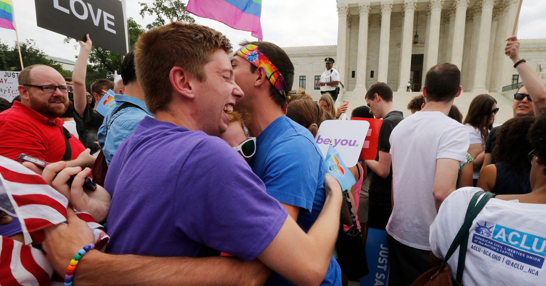 Supreme Court Ruling Makes Same-Sex Marriage a Right.