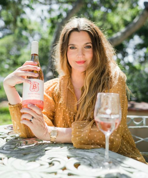 Drew Barrymore and her Barrymore Rosé
