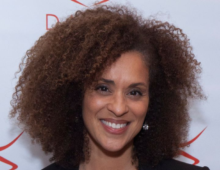 """Karyn Parsons is best known for her role as Hilary Banks in the '90s sitcom """"The Fresh Prince of Bel-Air."""""""