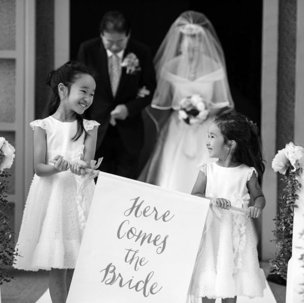 """""""These two flower girls were absolute perfection."""" --<i>Traceand Dee</i>"""