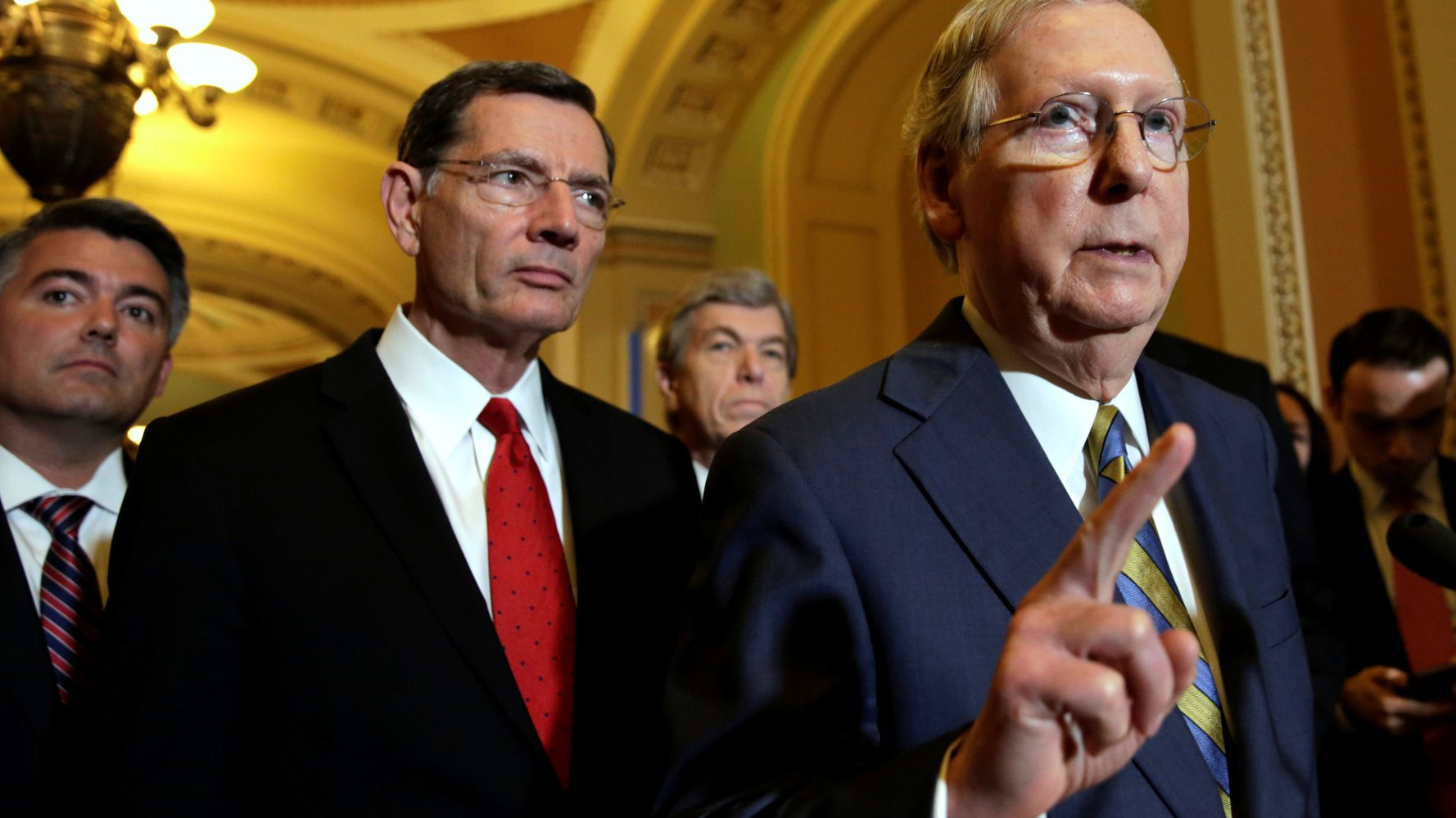 Senate Republicans Said Their Bill Wouldn't Hurt The Poor. It Would.