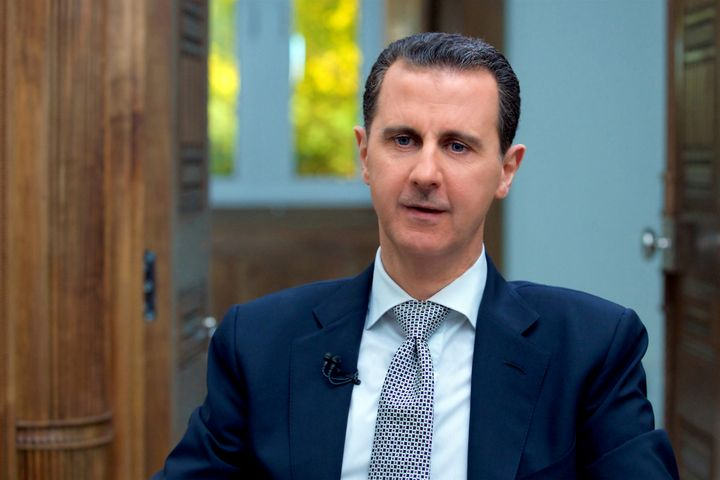 """In an interview with AFP earlier this year, Syrian President Bashar al-Assad said the alleged April attack was """"100 percent fabrication"""" used to justify a U.S. airstrike."""