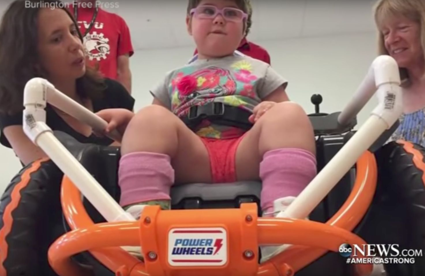 Teenager's Science Project Gives Mobility To A Four-Year-Old For The First