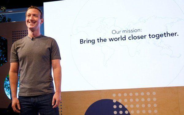 Mark Zuckerberg at the Communities Summit