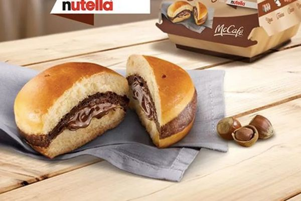 """Italy -- the land of chocolate and hazelnut -- was gifted the <a href=""""http://www.brandeating.com/2016/11/mcdonalds-debuts-ne"""