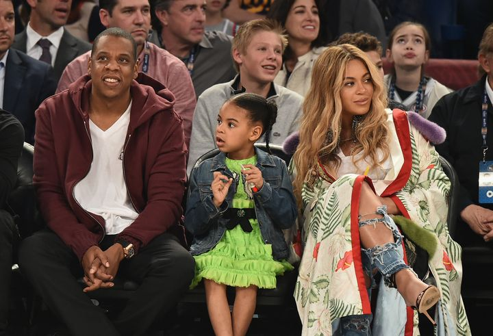 Jay Z, Blue Ivy Carter, Beyoncé are getting to know the latest additions to their family.