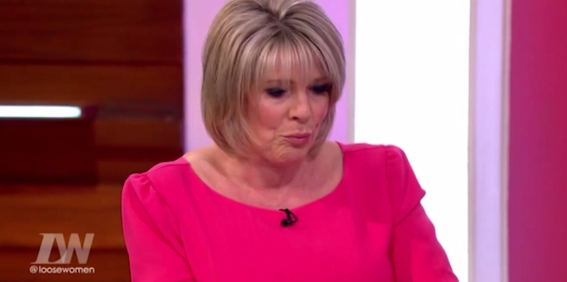 Ruth Langsford Breaks Down In Tears Live On 'Loose Women' As She Discusses Late Father's