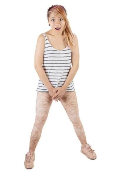 These Hairy Leggings Take Not Shaving To The Next