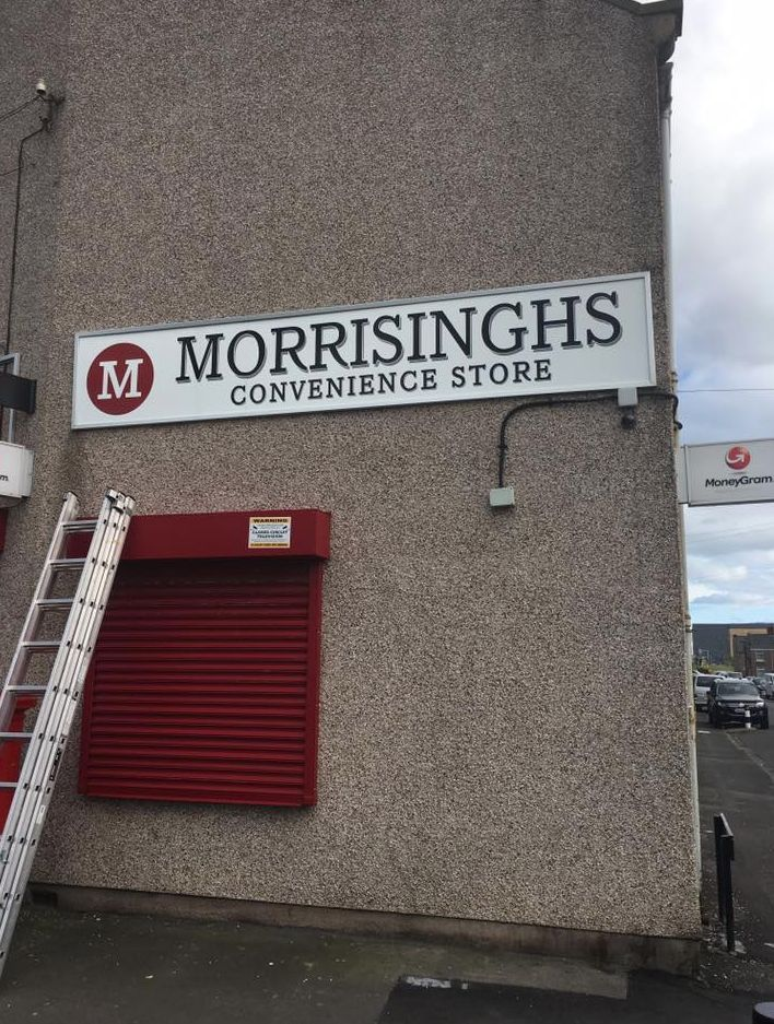 Shopkeeper Rebrands His Store 'Morrisinghs' After Legal Threat Over