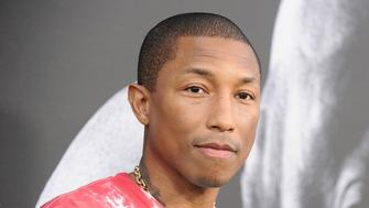 HOLLYWOOD, CA - JUNE 22:  Pharrell Williams attends the premiere of 'The Defiant Ones' at Paramount Theatre on June 22, 2017 in Hollywood, California.  (Photo by Jason LaVeris/FilmMagic)