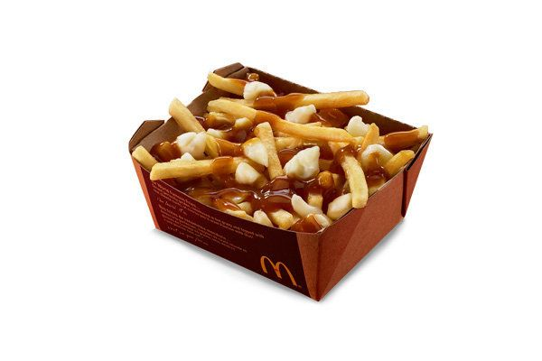 Naturally, if any McDonald's were going to serve poutine -- fries topped with cheese curd and gravy -- it'd be Canada, where