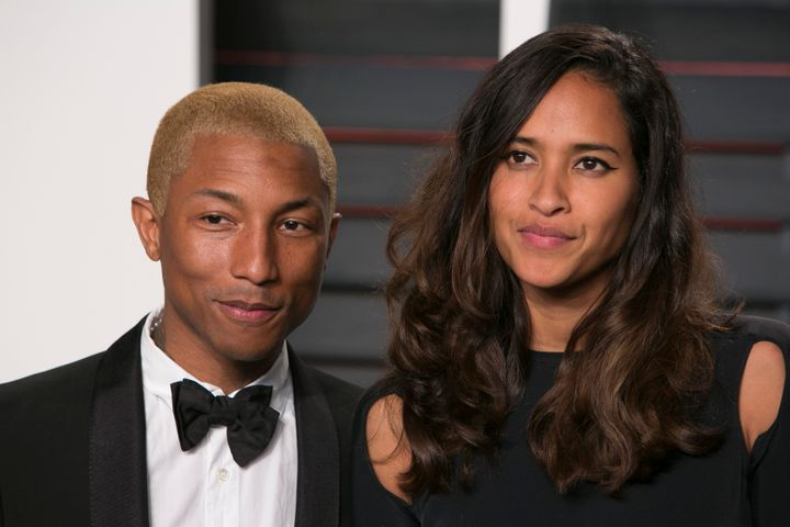 Pharrell Williams and Helen Lasichanh welcomed triplets in January. They also have an 8-year-old son, Rocket.