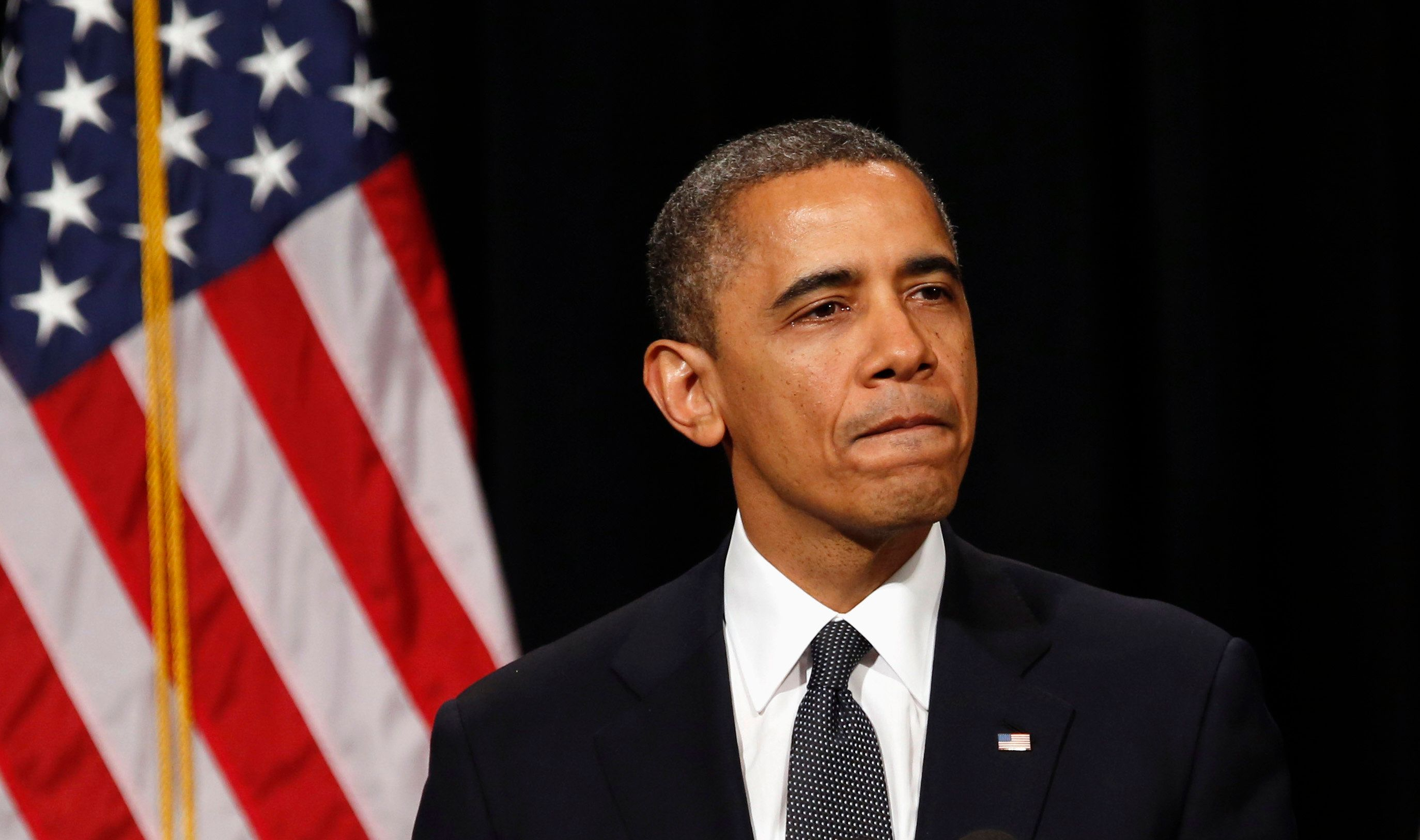 """Following the shooting at Sandy Hook Elementary School, President Barack Obama called for""""more meaningful action&"""
