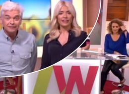 Nadia Sawalha Caught Commenting On Holly Willoughby's Appearance In Awkward Live TV Blunder