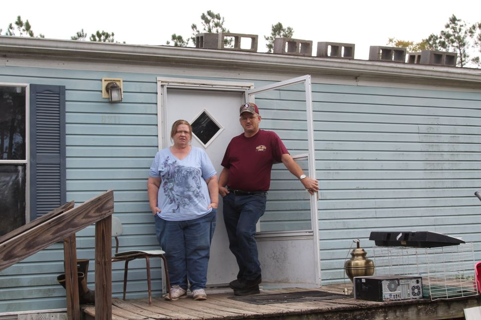 Sandra and Jerry Sloan live less a mile from the landfill in Wayne County, Georgia, where a company wanted to dump massive am