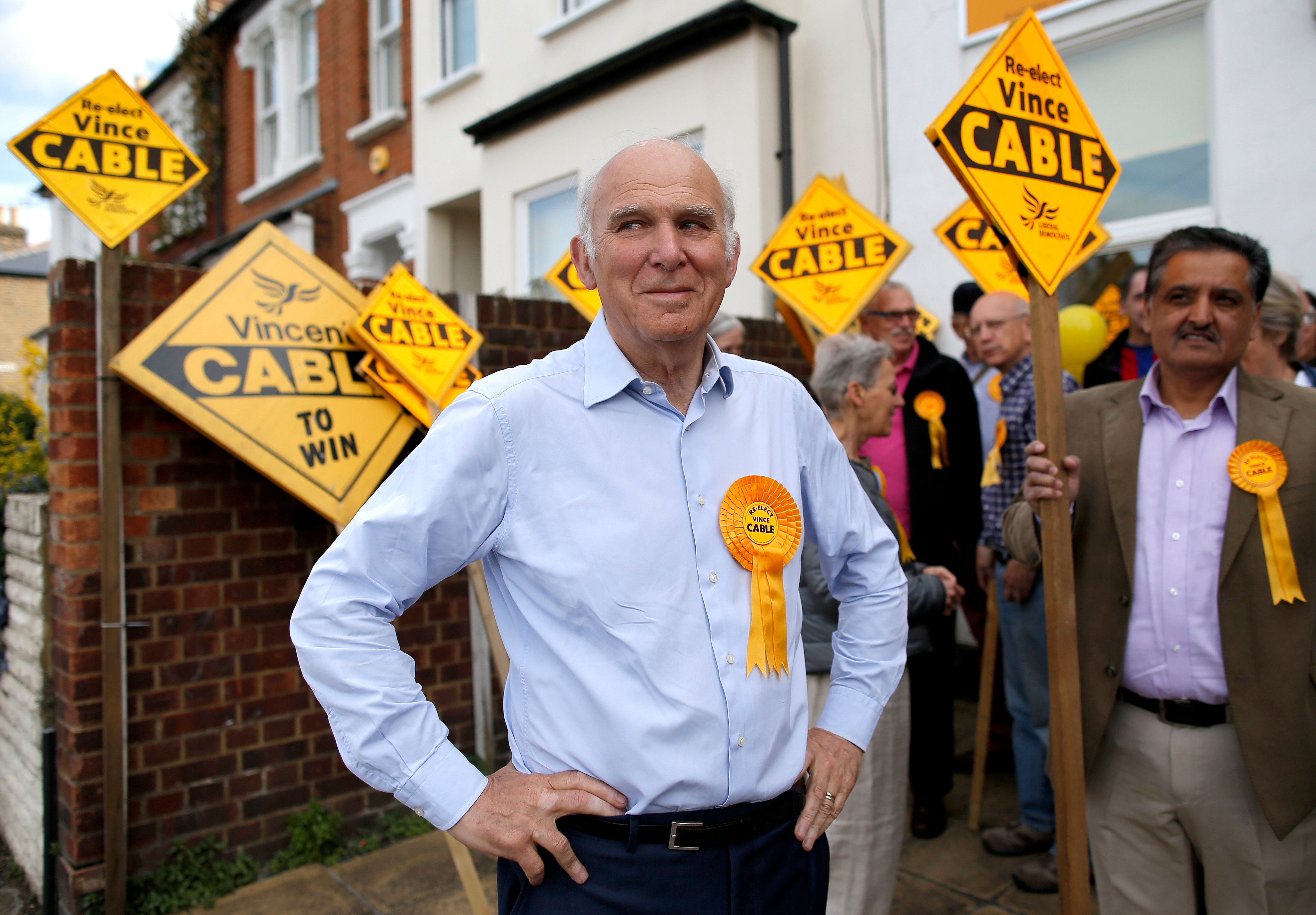 Vince Cable Set For Coronation As Ed Davey Rules Himself Out Of Lib Dem Leadership