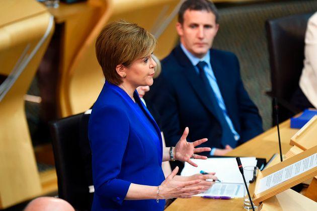 Nicola Sturgeon announces her 'reset' to