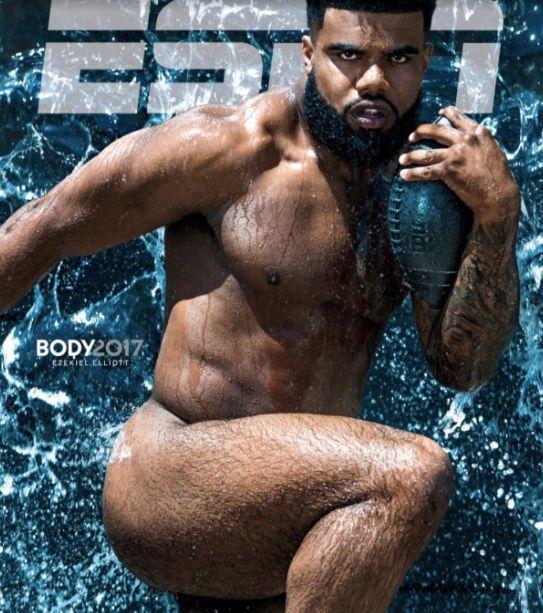 Cowboys running backZeke Elliott graces the cover of the 2017ESPN Body